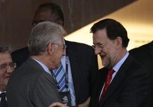 Премьеры Италии и Испании написали Януковичу письмо