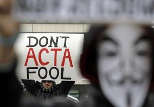 Еврокомиссар: Антипиратского соглашения ACTA в ЕС не будет