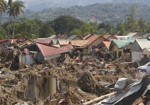 Число жертв тропического шторма на Филиппинах превысило 1200 человек