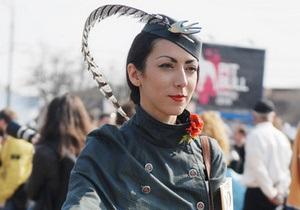 Фотогалерея: Tweed Run. В Киеве состоялся велопробег в стиле ретро