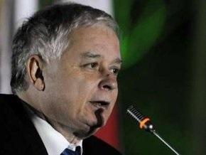 Качиньский попросил никого не винить в инциденте в Грузии