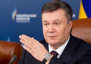 Янукович считает, что рост экономики стал основанием для увеличения зарплат украинцев
