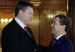 Фотогалерея: Эх раз, еще раз. Янукович и Медведев провели десятую за год встречу