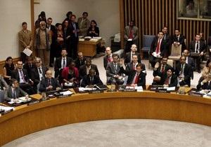 РФ и Китай наложили вето на проект резолюции СБ ООН по Сирии