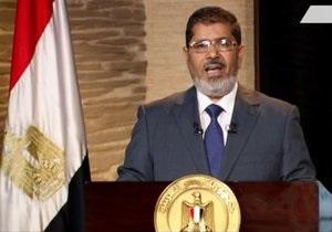 Мурси выступил с первым обращением к египетской нации