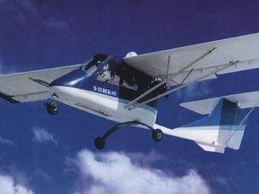 В Запорожской области упал легкомоторный самолет
