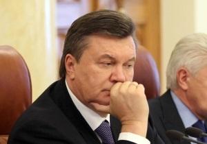 Янукович предложил министрам написать заявления об отставке