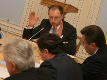 Яценюк консультируется с лидерами фракций