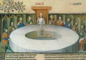 Ученые нашли  Круглый стол Короля Артура