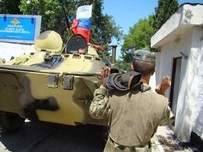 В Севастополе ГАИ задержала два БТР Черноморского флота России