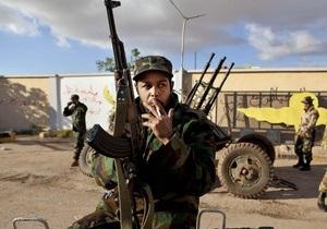 Ливийские повстанцы намерены провести местные выборы на подконтрольной территории