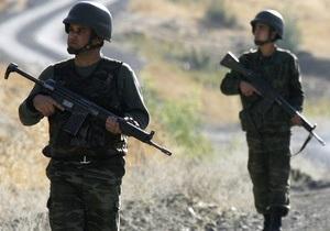 В столкновениях турецкой армии с курдами убиты около 40 боевиков