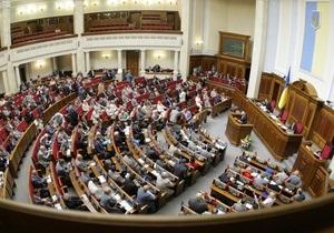 Сегодня Рада может рассмотреть изменения к закону о выборах президента