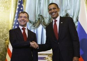 Обама и Медведев договорились ускорить переговоры по СНВ