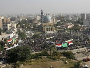 В Багдаде прошла крупная антиамериканская акция
