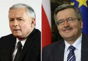 ГИК: Разрыв между фаворитами президентской гонки в Польше - менее 1%