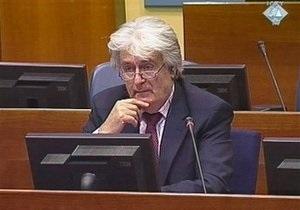 Караджич возложил ответственность за войну в Боснии на местных мусульман