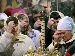 Опрос: Почти 90% украинцев считают себя верующими