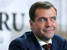 Медведев побывал на репетиции Машины времени