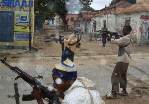 В Сомали в результате столкновения армии с исламистами погибли более 20 мирных жителей