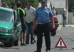 СМИ: Добкин попал в ДТП