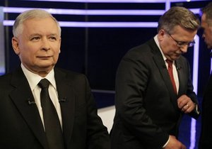 Предвыборный штаб Коморовского подал в суд на Ярослава Качиньского