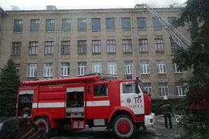 В Одессе эвакуировали 119 детей во время пожара в интернате