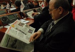 Досрочно прекращены полномочия депутатов Киевсовета Журавского и Гречковского