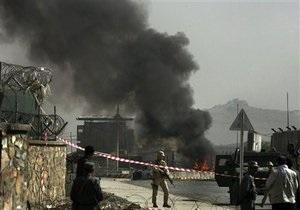 В Афганистане террорист-смертник подорвал конвой НАТО: есть жертвы