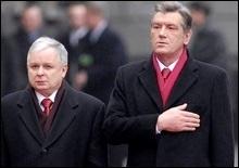 Качиньский: Украина будет и в НАТО, и в ЕС