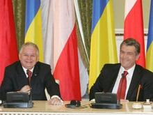 Ющенко отправляется в Польшу