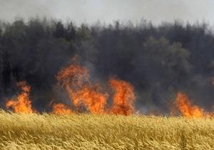 В Ровенской области горят торфяники