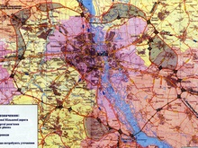Утверждено генеральное направление большой окружной дороги вокруг Киева
