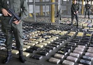 Полиция Панамы изъяла крупнейшую в 2009 году партию кокаина