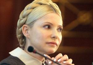 Тимошенко обнародовала декларацию о доходах
