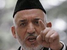 Власти Афганистана обвинили Пакистан в покушении на Карзая
