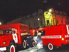 В Одессе снова горел Дом Руссова