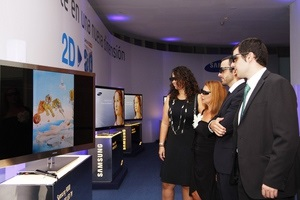 3D-телевизоры Samsung стирают грань между искусством и технологиями