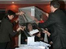 Партия Саакашвили уверенно лидирует на выборах в Грузии