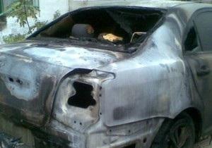 В Севастополе неизвестные ночью подожгли автомобиль и офис адвоката