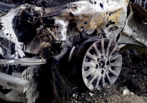 В Крыму киевлянин погиб, слетев на автомобиле со скалы