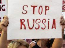 В Грузии началась массовая акция Stop Russia