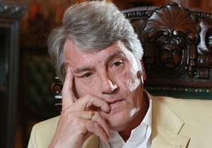 Ющенко считает, что из суда над Тимошенко сделали шоу