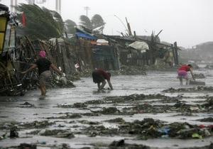 Тайфун на Филиппинах: около 60 человек погибли