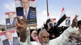 Президентские выборы в Йемене сопровождаются насилием