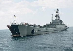 Минобороны: На корабле Кировоград случайно взлетели ракеты