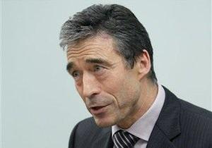 Расмуссен: НАТО не исключает возможности создания совместной с Россией системы ПРО
