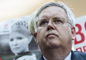 Правительство США призывает освободить Тимошенко