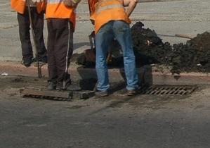 В Киеве реконструируют проспект Бажана, улицу Горького и частично проспект Победы