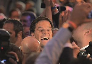 Либералы победили на парламентских выборах в Нидерландах